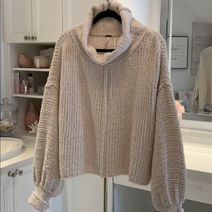 NWOT Free People Be Yours pullover